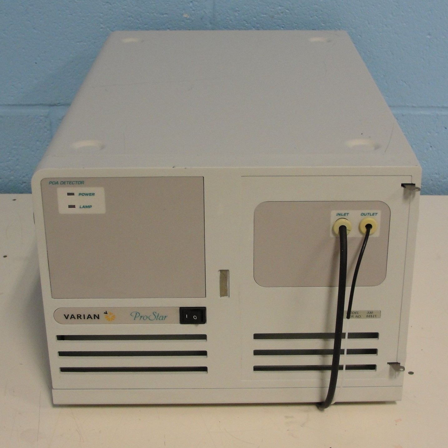 Photo Diode Array Detector: Waters 2695 Alliance Separations 2998 photodiode array pda detector specifications