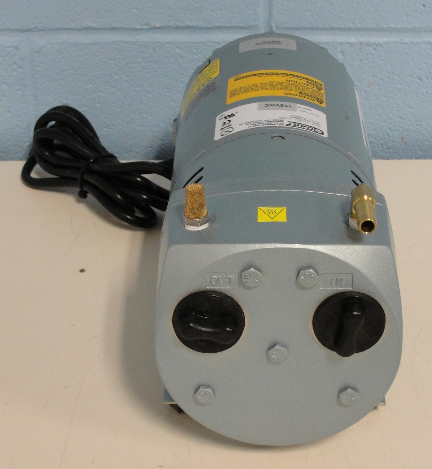 Gast Oilless Pump Wire Diagram Wiring Libraries Vacuum Pumps Refurbished Rotary Vane Pumpgast Image