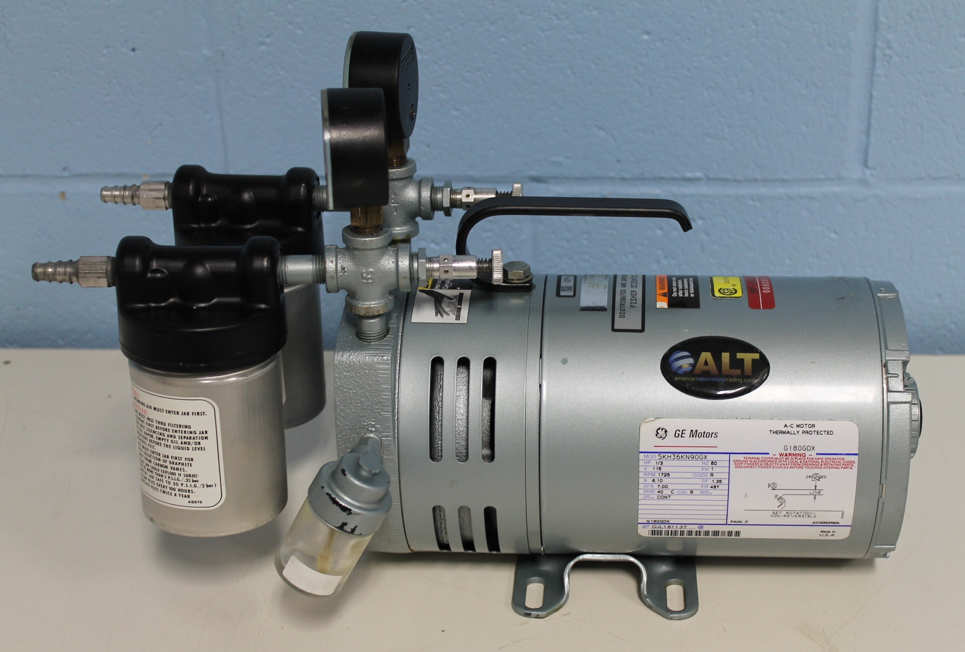 0523 V4H G588DX Rotary Vane Vacuum Pump gast 0523 v4h g588dx rotary vane vacuum pump gast vacuum pump wiring diagrams at soozxer.org