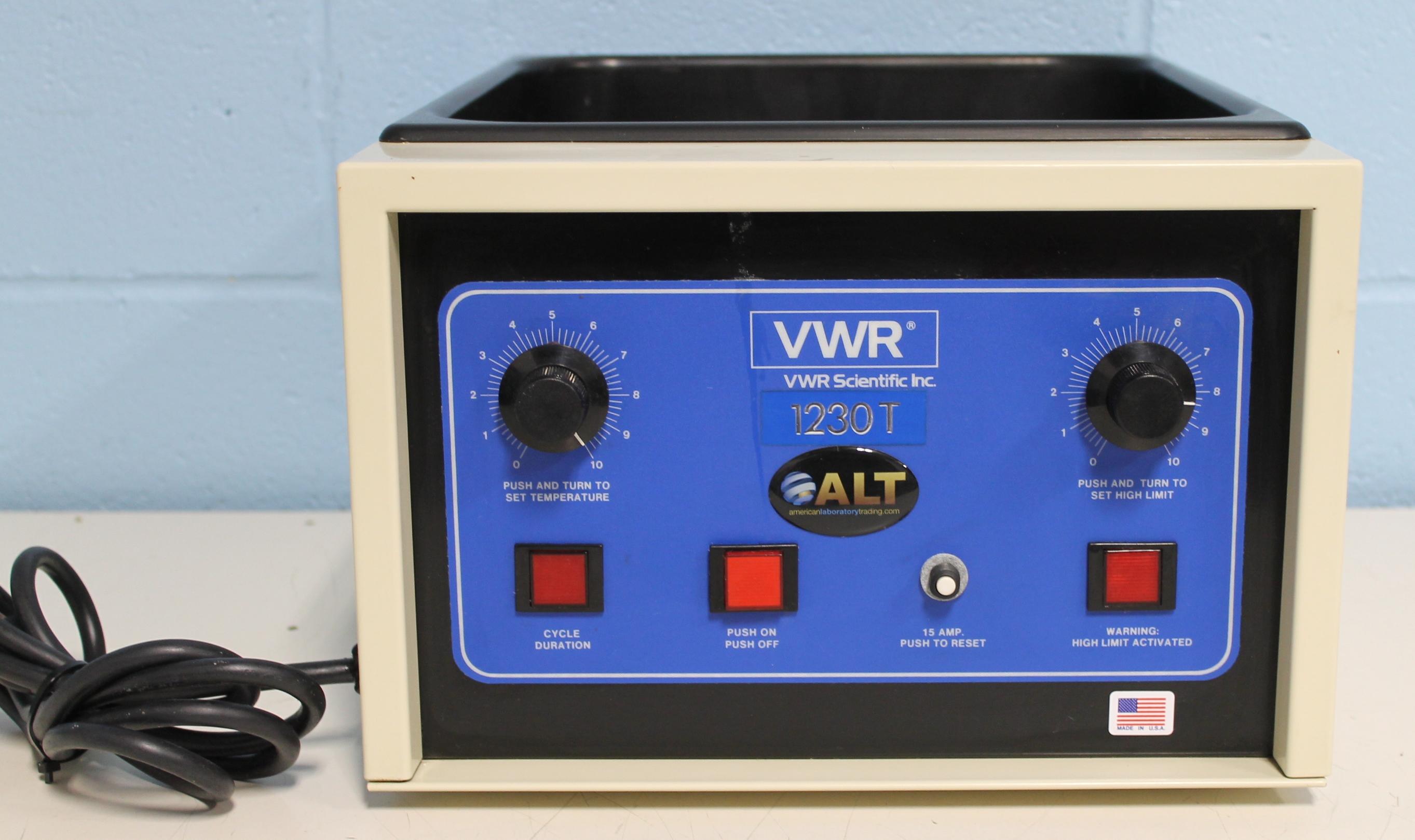 VWR 1230T Water Bath Image