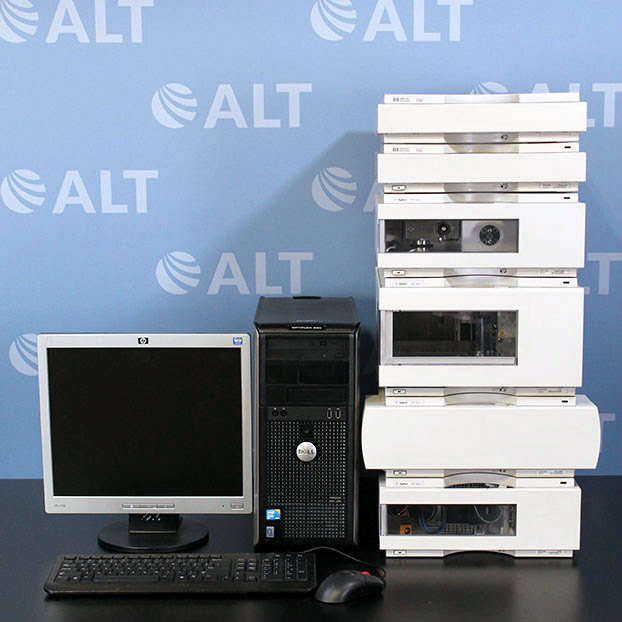 Agilent 1100 Series HPLC System with G1315B DAD and G1311A Quat Pump Image