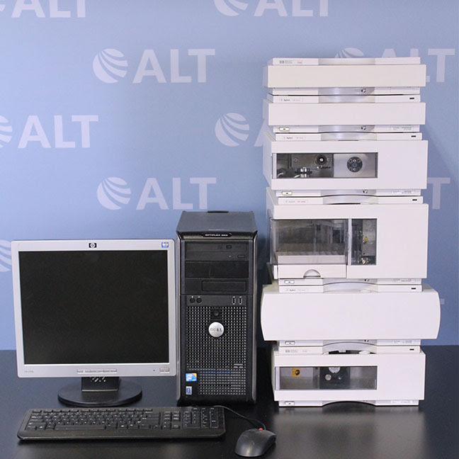 HP/Agilent 1100 Series HPLC System with G1321A FLD and G1311A Quat Pump Image