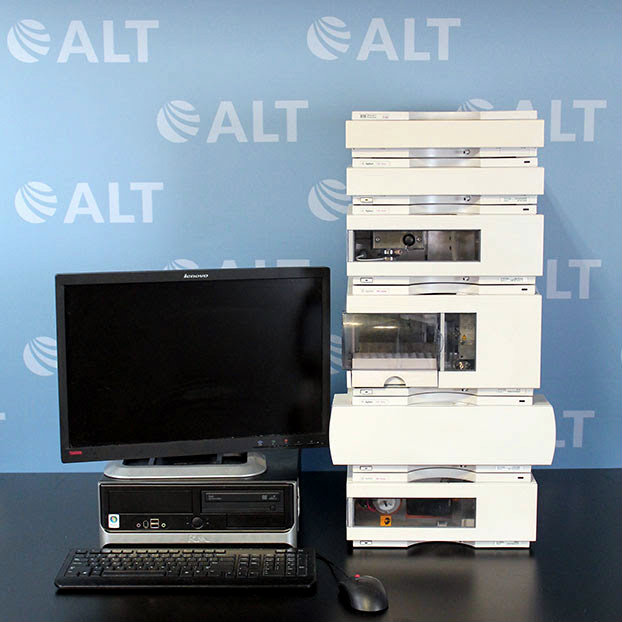 Agilent 1100 Series HPLC System with G1365A MWD and G1310A Isocratic Pump Image