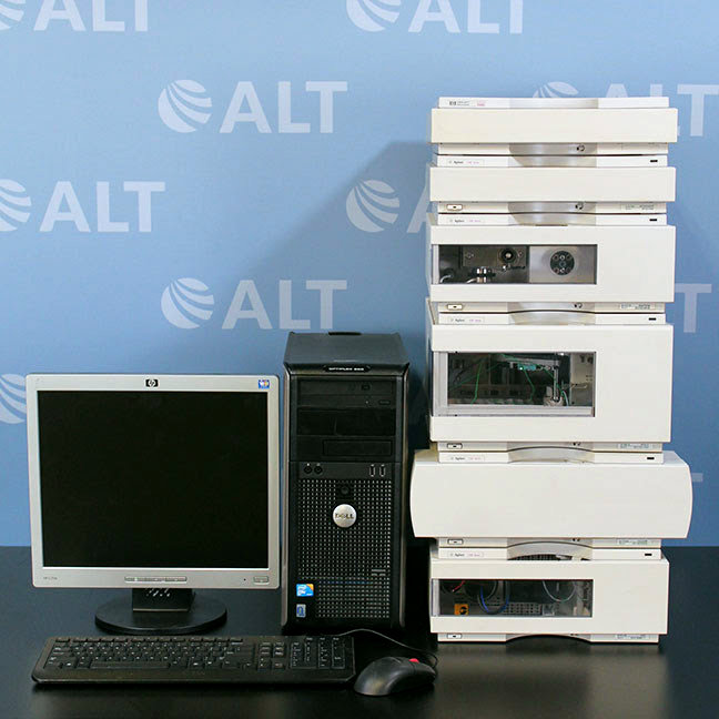 Agilent 1100 Series HPLC System with VWD and Binary Pump Image