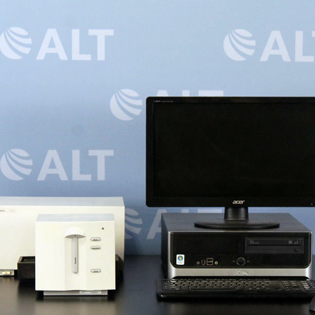 Agilent 8453 Diode Array UV/VIS Spectrophotometer Model G1103A with Multi-Cuvette Holder Image