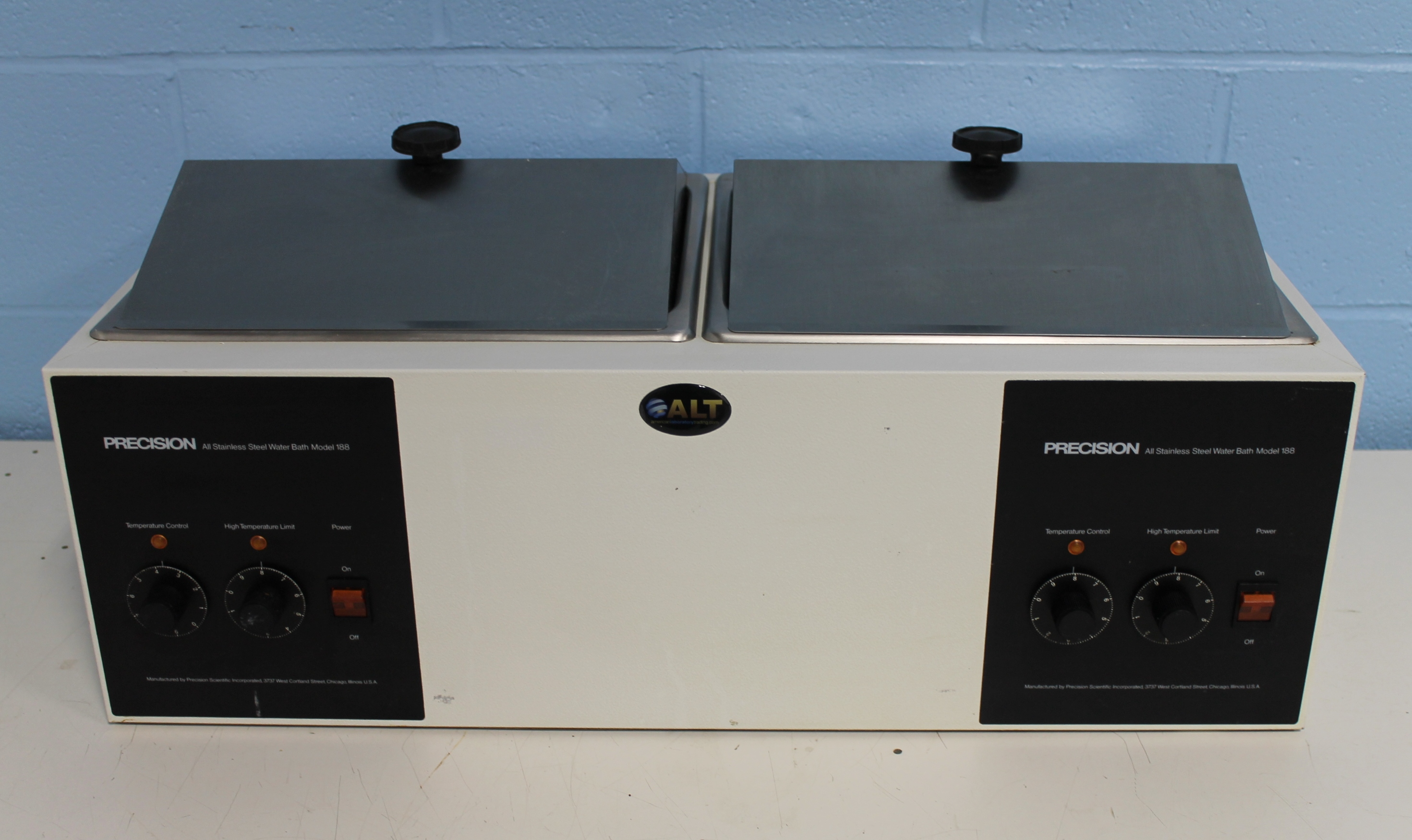 Refurbished Precision Scientific 188 Stainless Steel Dual