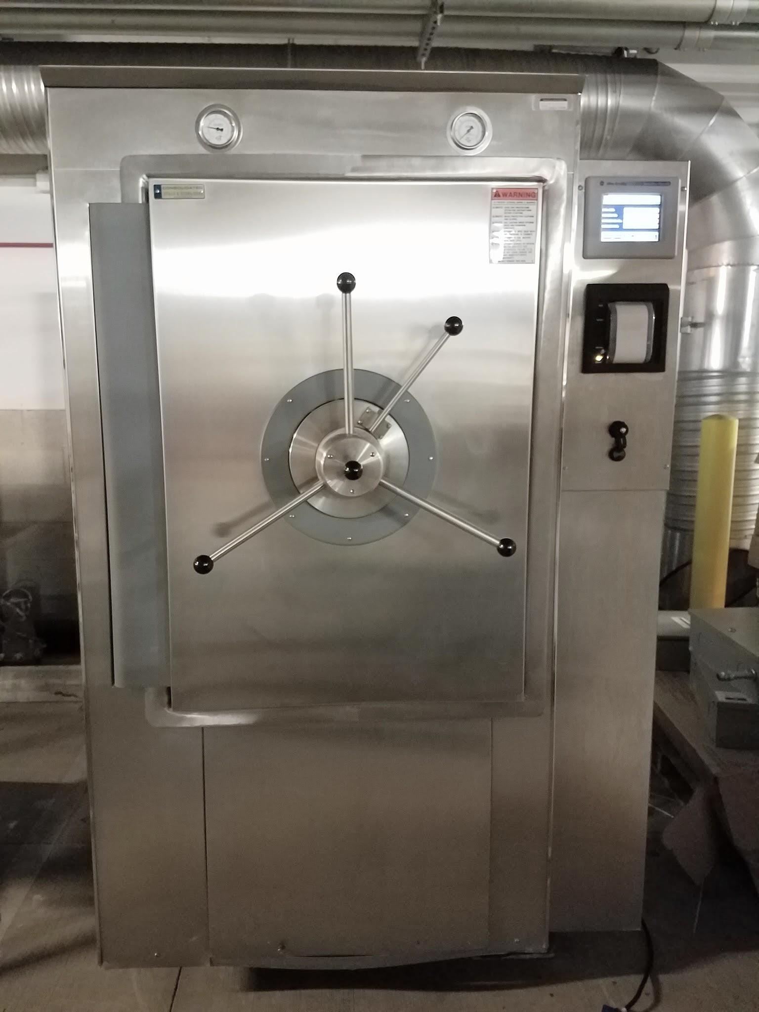 Refurbished Consolidated SR 24E S V Autoclave Sterilizer with
