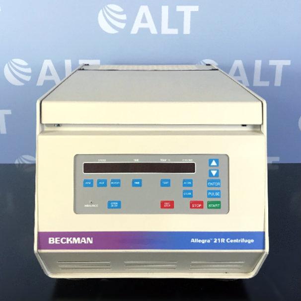 Beckman Coulter Allegra 21R Refrigerated Centrifuge Image