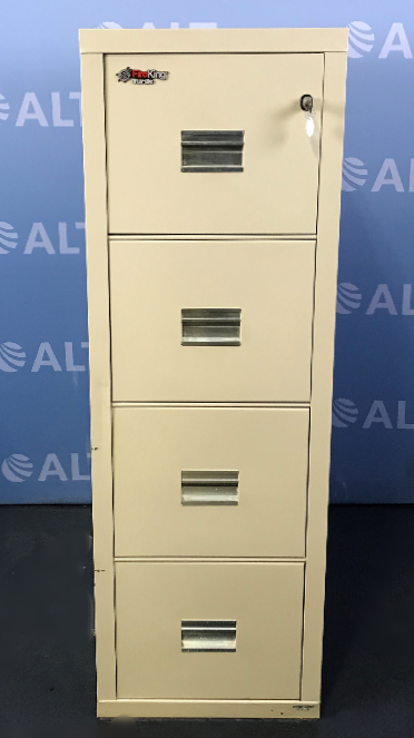 FireKing Turtle Four Drawer Vertical Legal Size File Cabinet Image