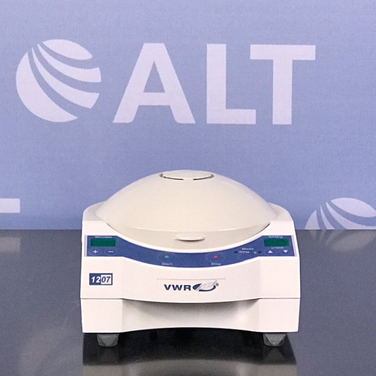 VWR  Galaxy 7D digital microcentrifuge with 12 place rotor, CAT No. 37001-294 Image