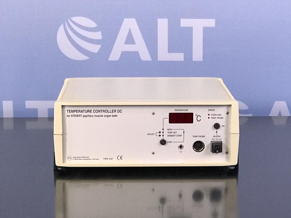 Hugo Sachs Elektronik DC Temperature Controller TYP 319/1, 115 VAC Image