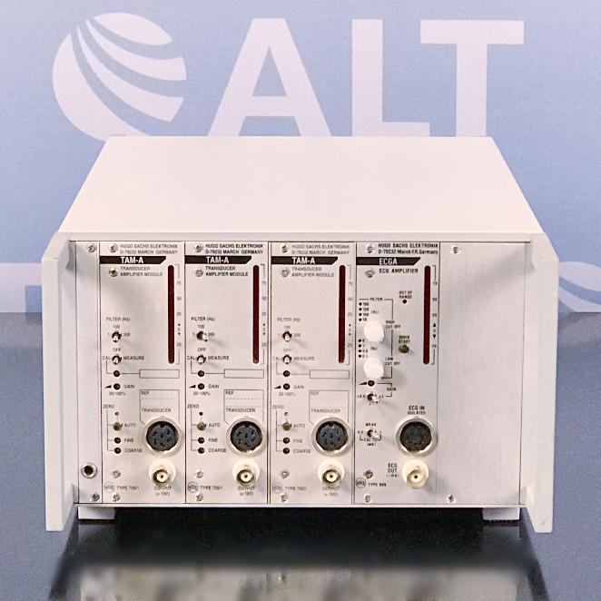 Hugo Sachs Elektronik PLUGSYS Basic System Case, Type 601 Image