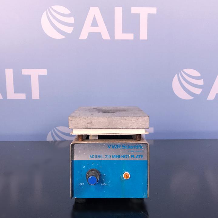 VWR Scientific Model 210 Mini-Hot Plate Image