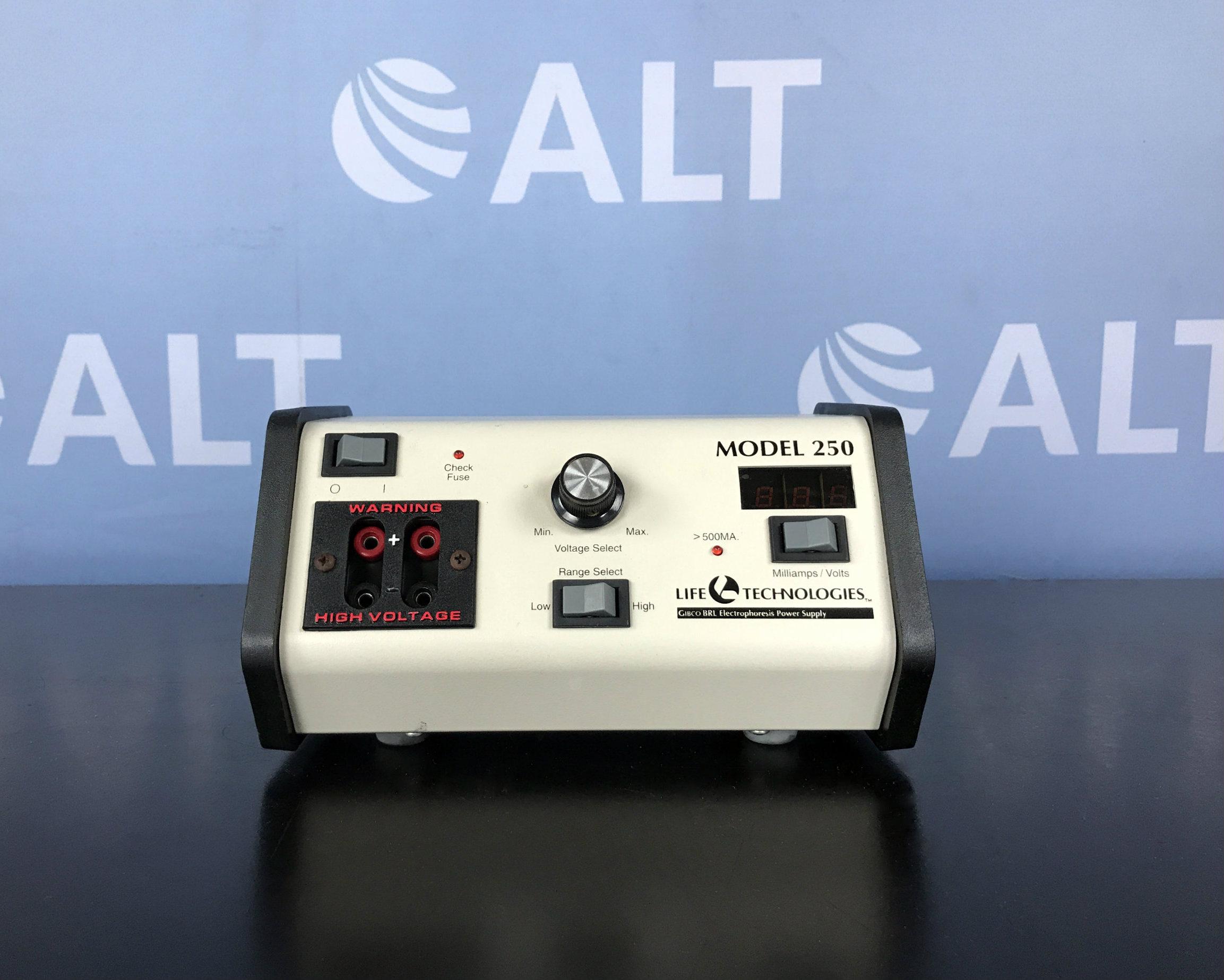 Life Technologies Inc. 250 Electrophoresis Power Supply Image