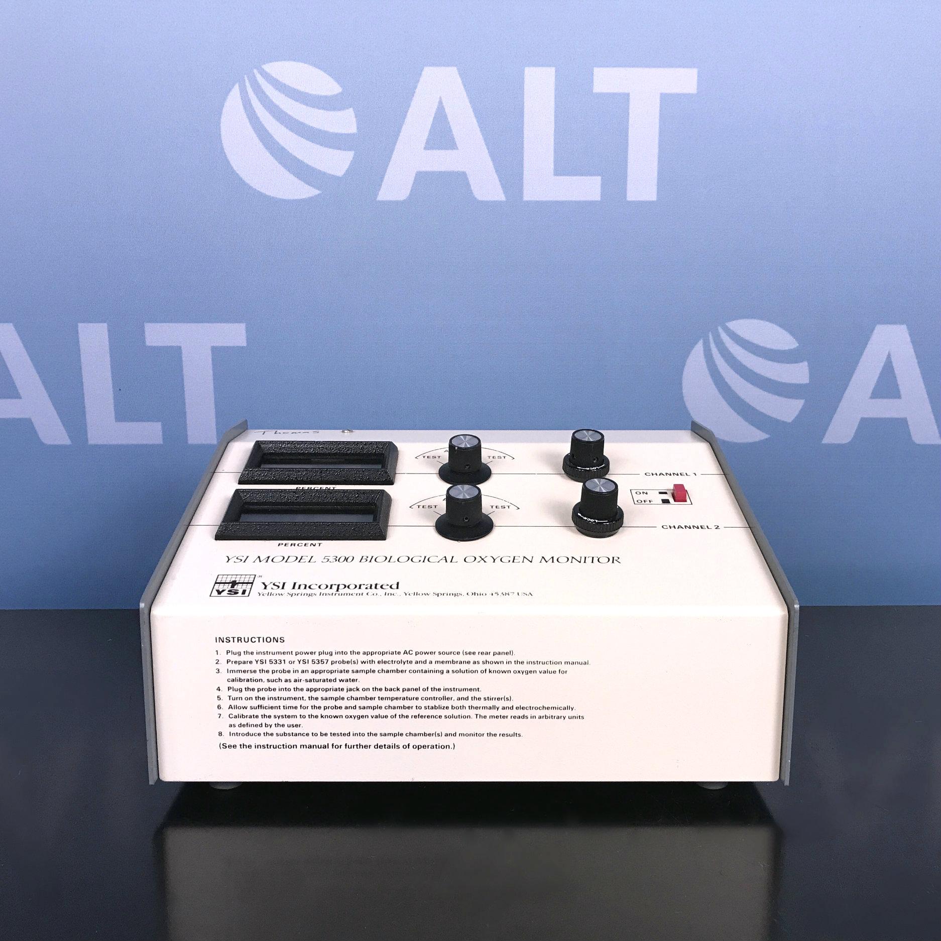YSI Model 5300 Biological Oxygen Monitor  Image