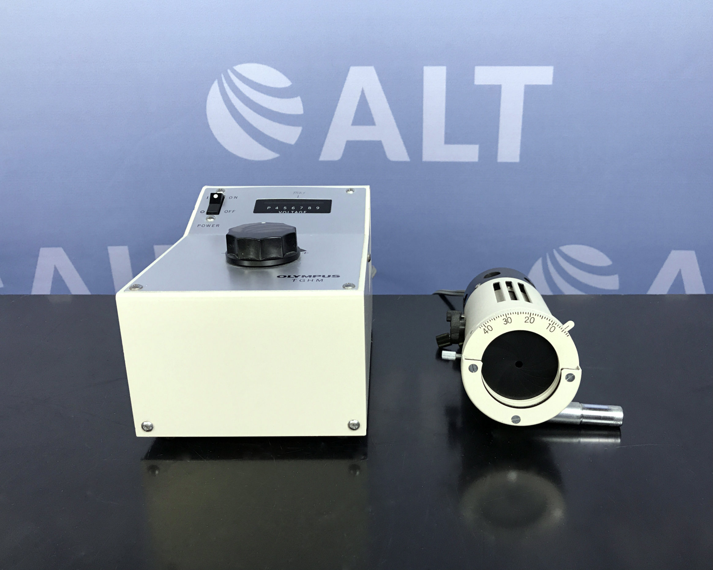 Olympus TGHM Microscope Power Supply With LSG Lamp Housing Light Image