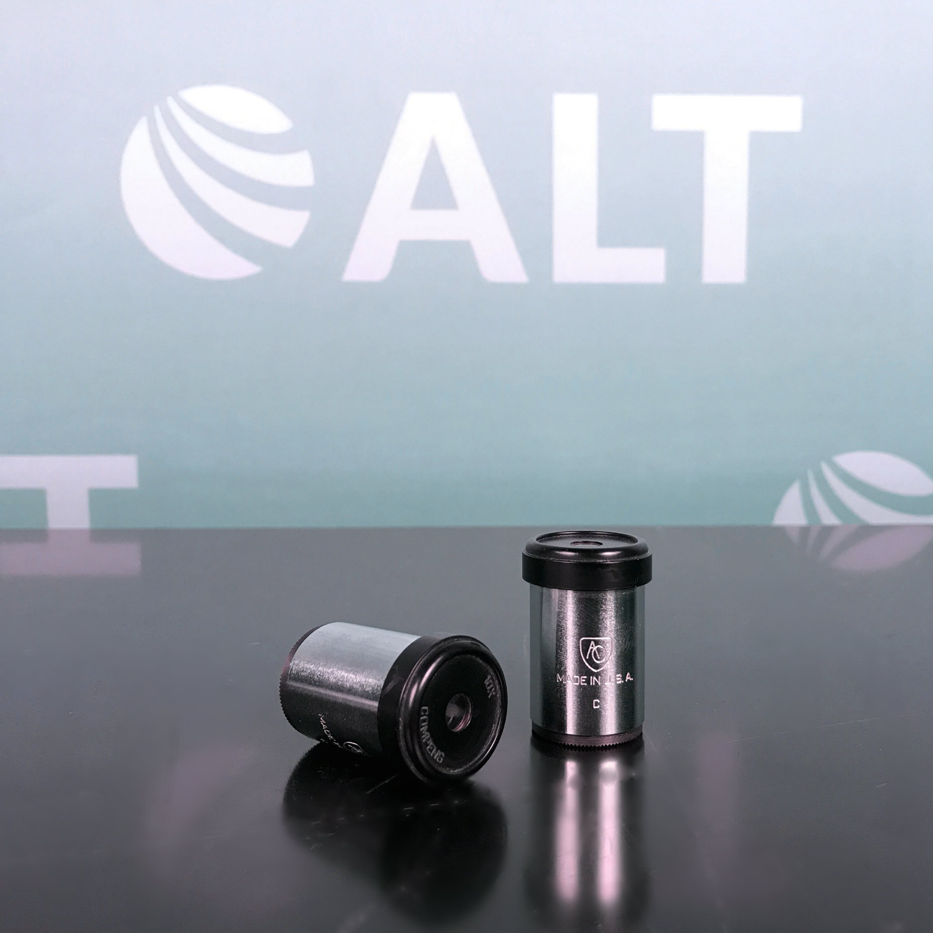 AO Spencer 10 x Microscope Ocular Lens Image
