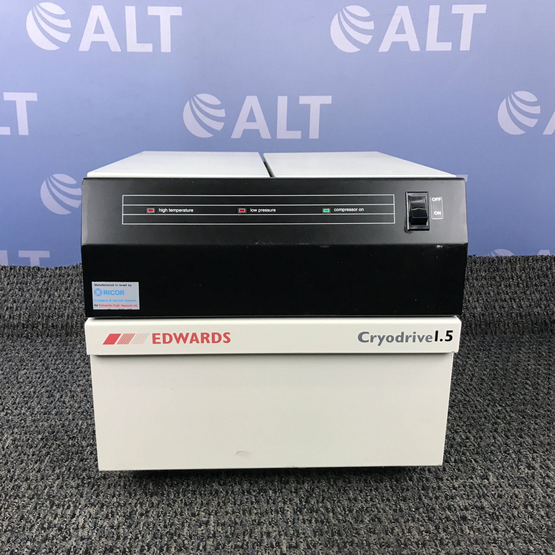 Edwards Cryodrive 1.5 Compressor Image