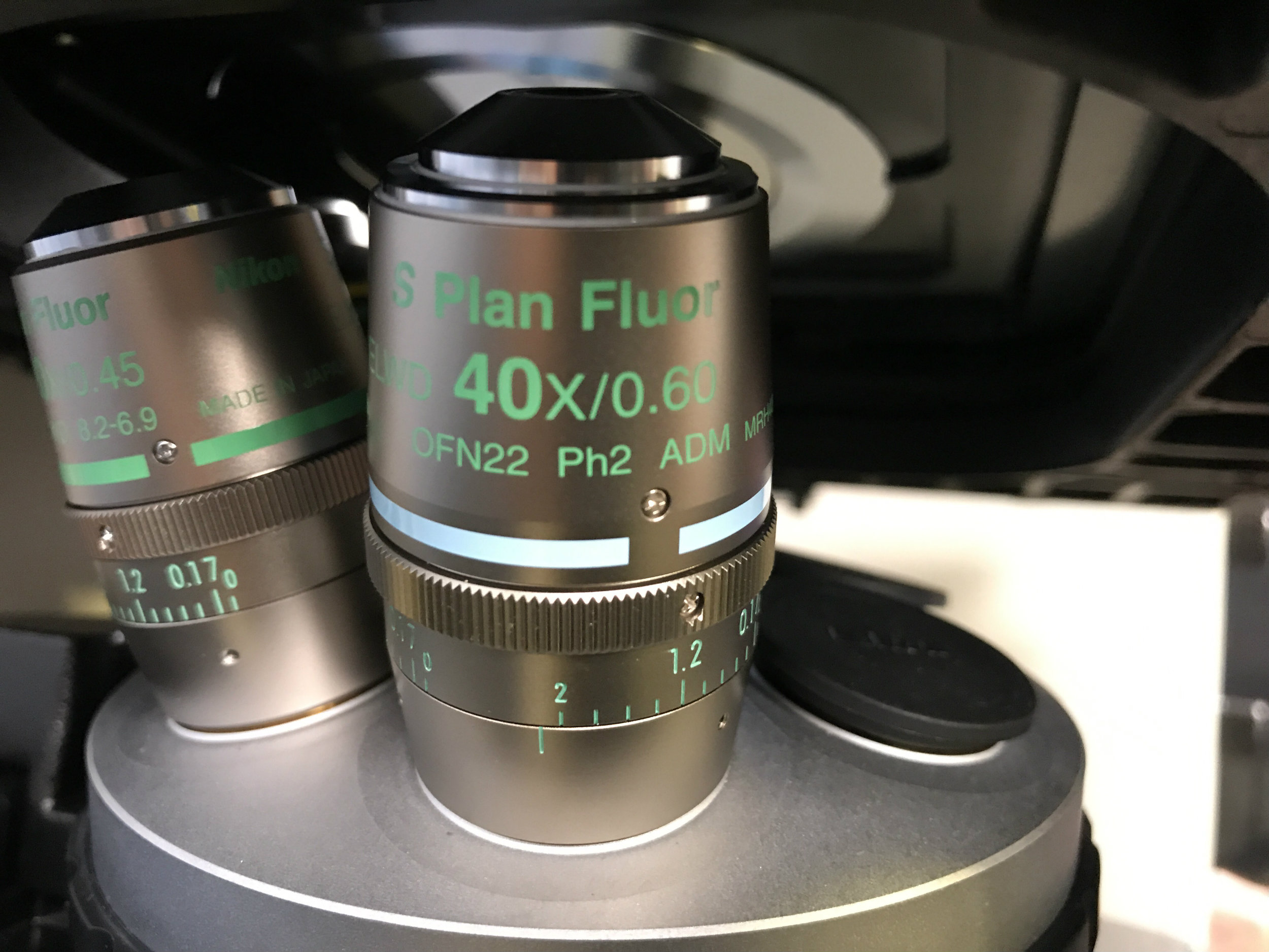 Refurbished Nikon Eclipse Ti-S/L100 Inverted Phase Contrast