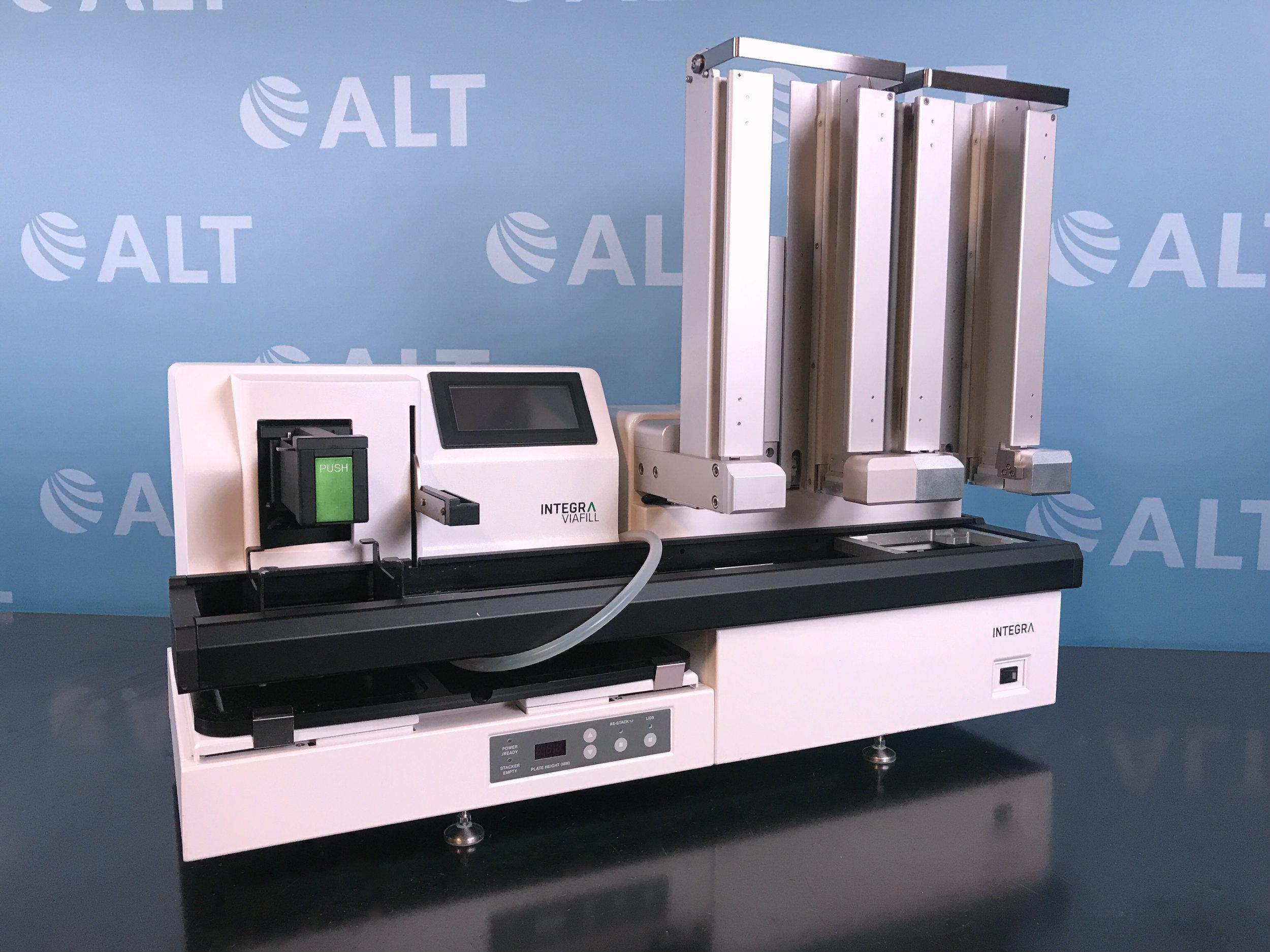 IBS Integra Biosciences Viafill Rapid Reagent Dispenser With Viafill Stacker Image