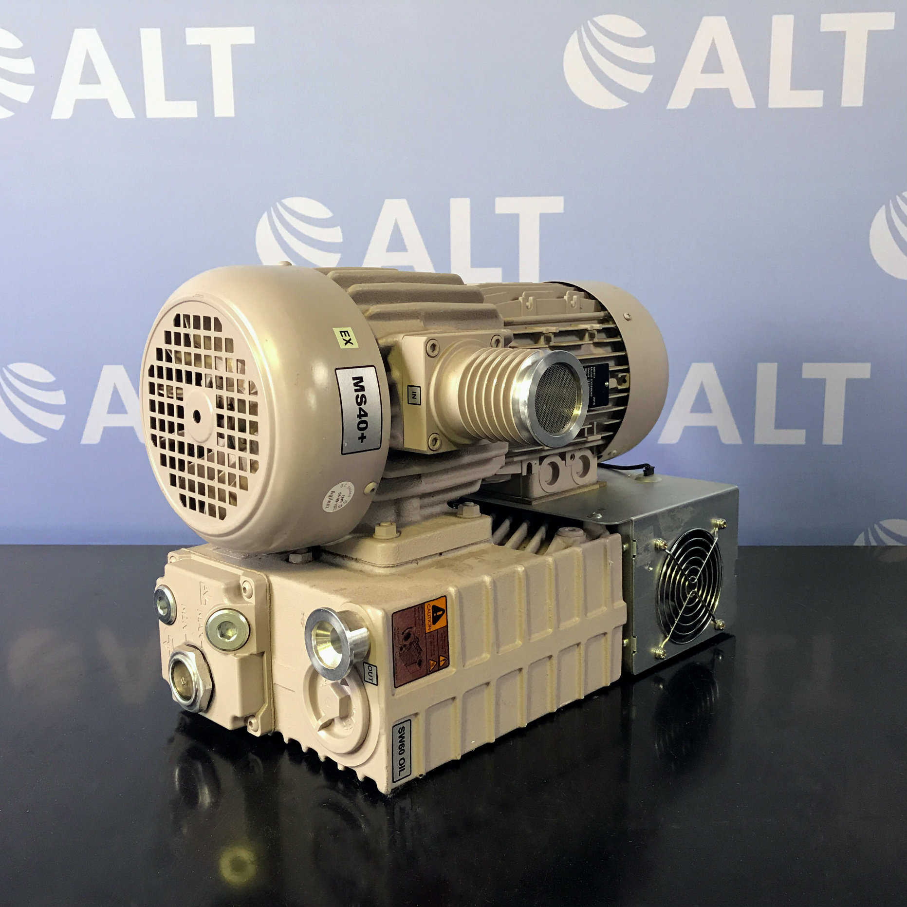 Agilent Technologies MS40+ Single Stage Rotary Vane Pump Image