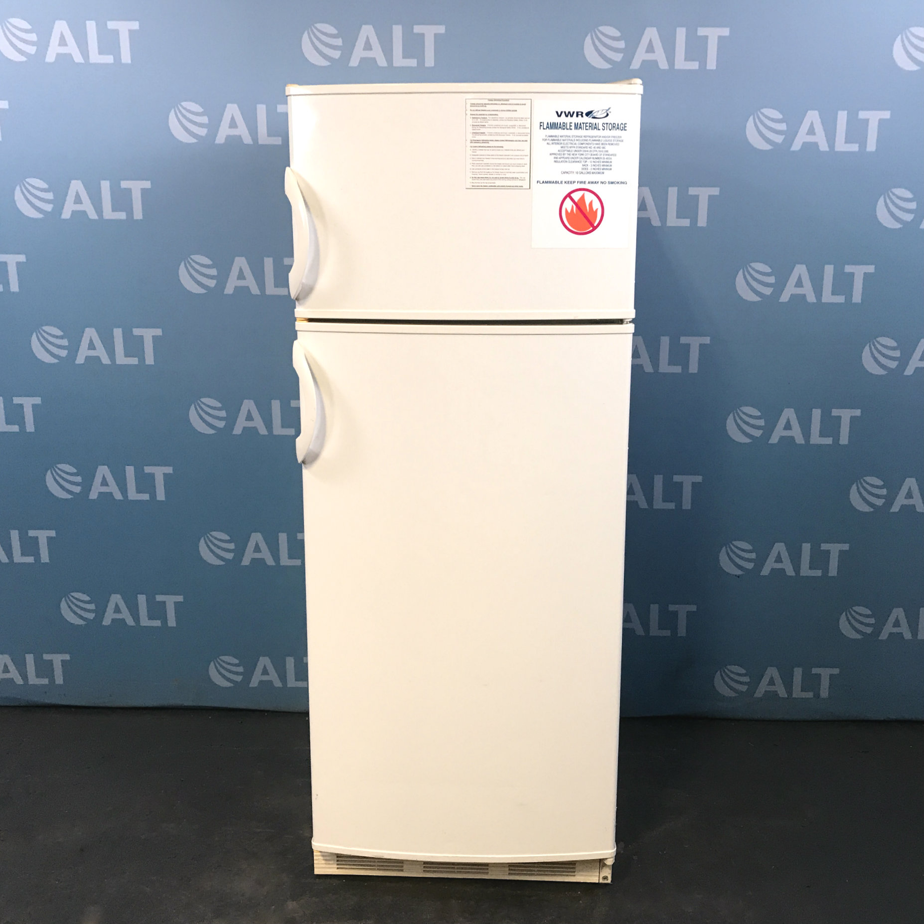 VWR Explosion Proof And Flammable Material Storage Refrigerator Model  47747 222 Image