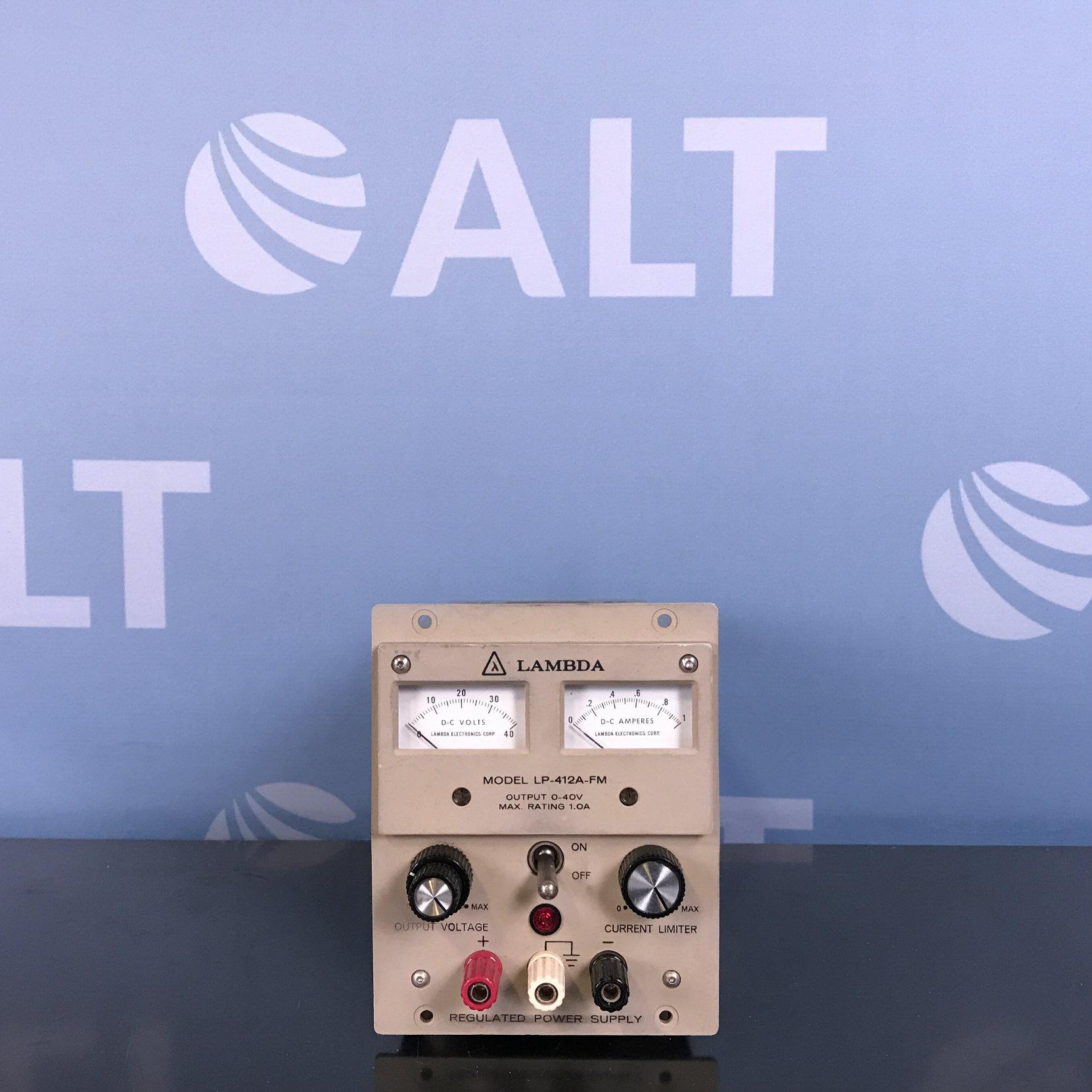 Lambda Model LP-412A-FM Regulated Power Supply Image