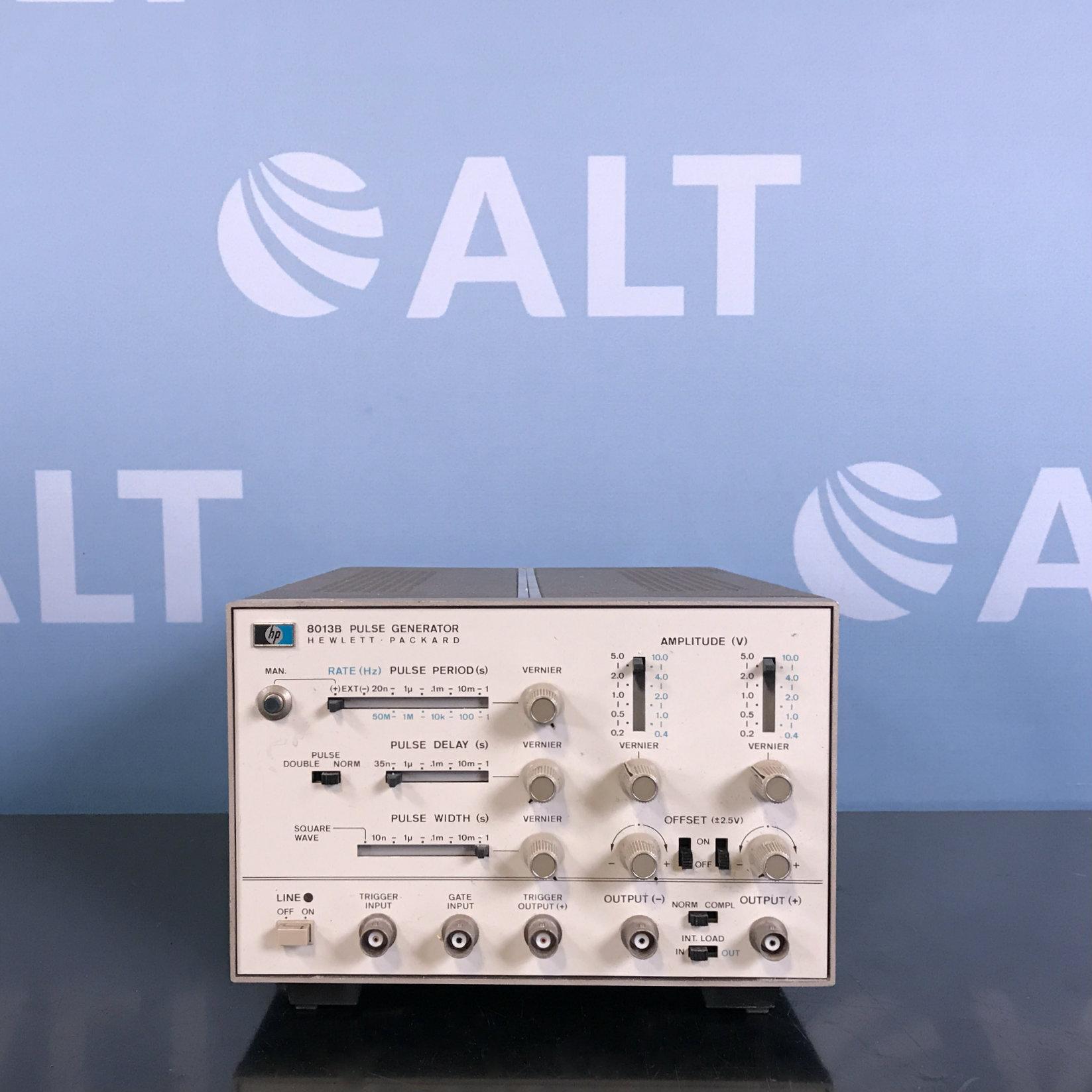 Hewlett Packard 8013B Pulse Generator Image