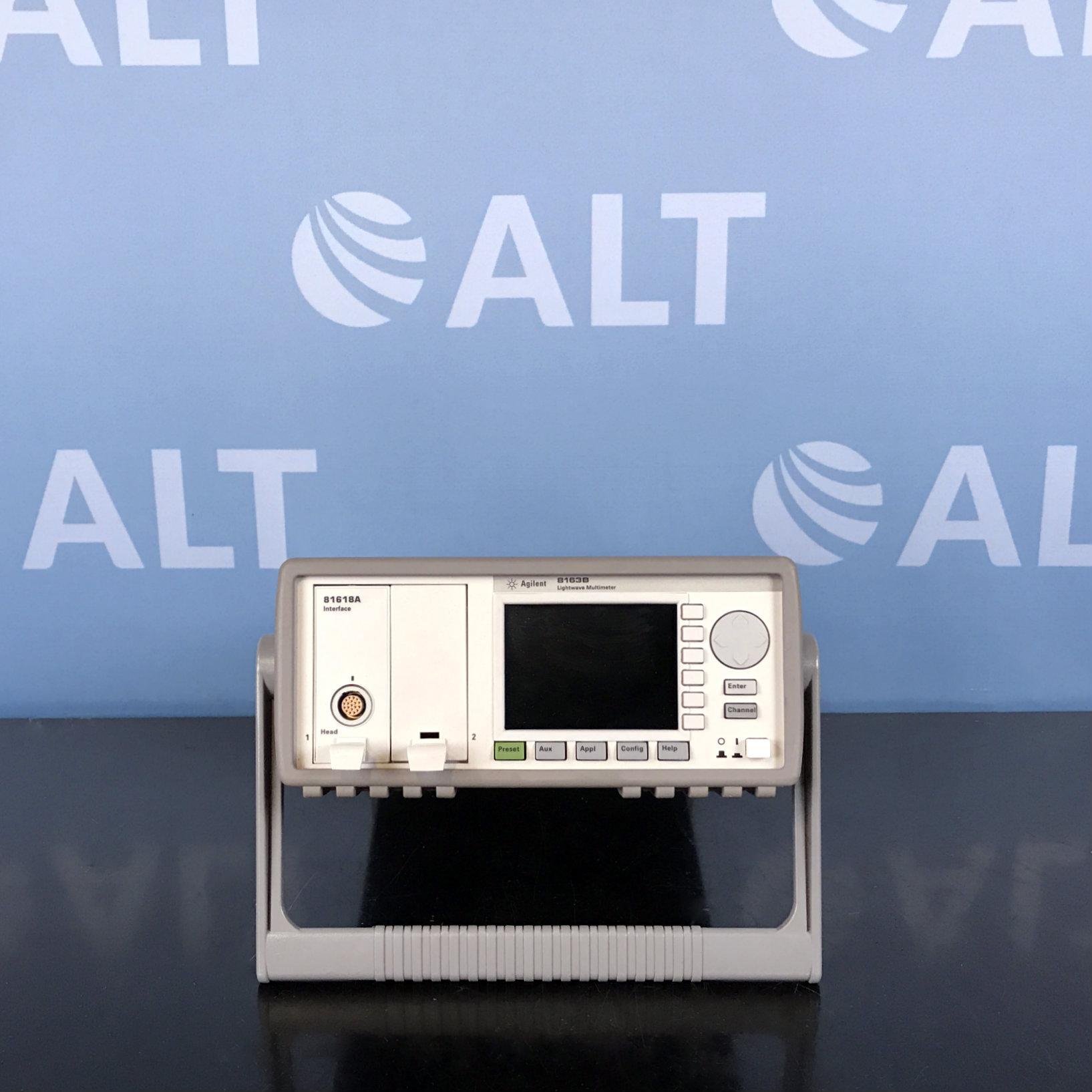 Agilent Technologies 8163B Lightwave Multimeter Image