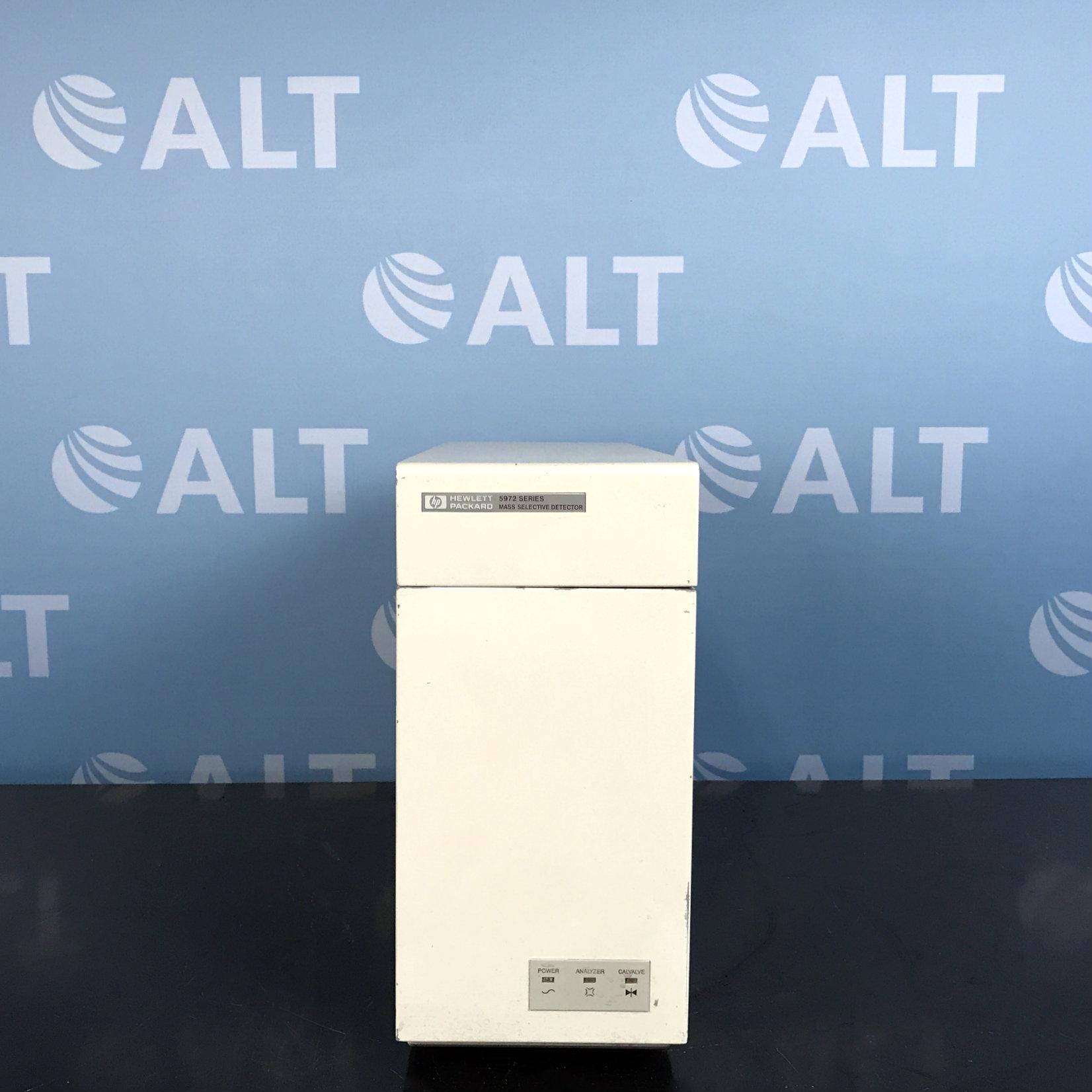 Hewlett Packard 5972 Series Mass Selective Detector Model 5972A Image