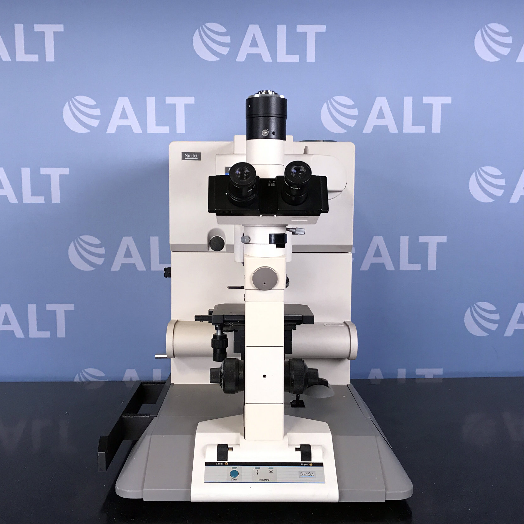 Nicolet Nic-Plan IR Microscope Image