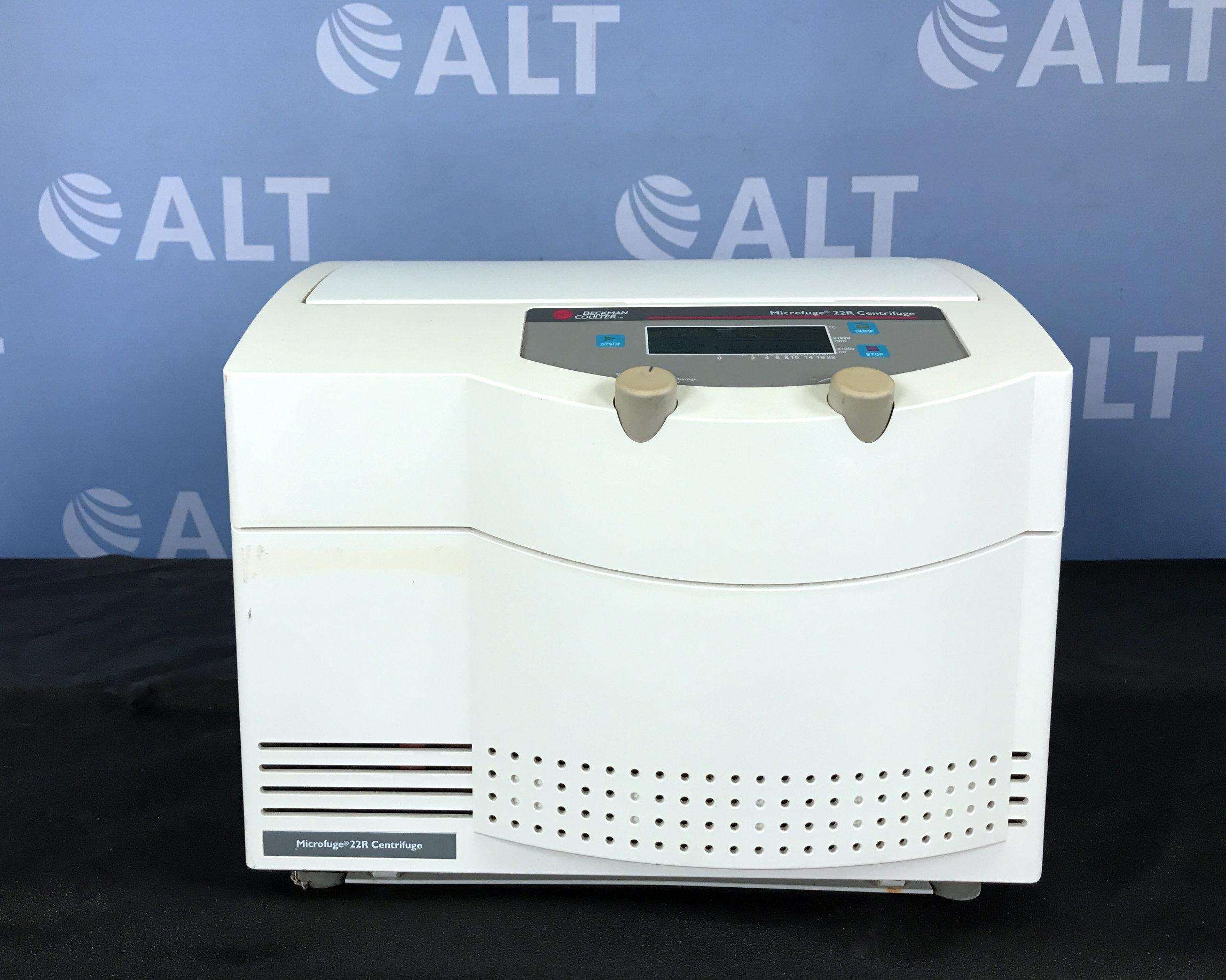 Beckman Coulter Microfuge 22R Refrigerated Centrifuge Image