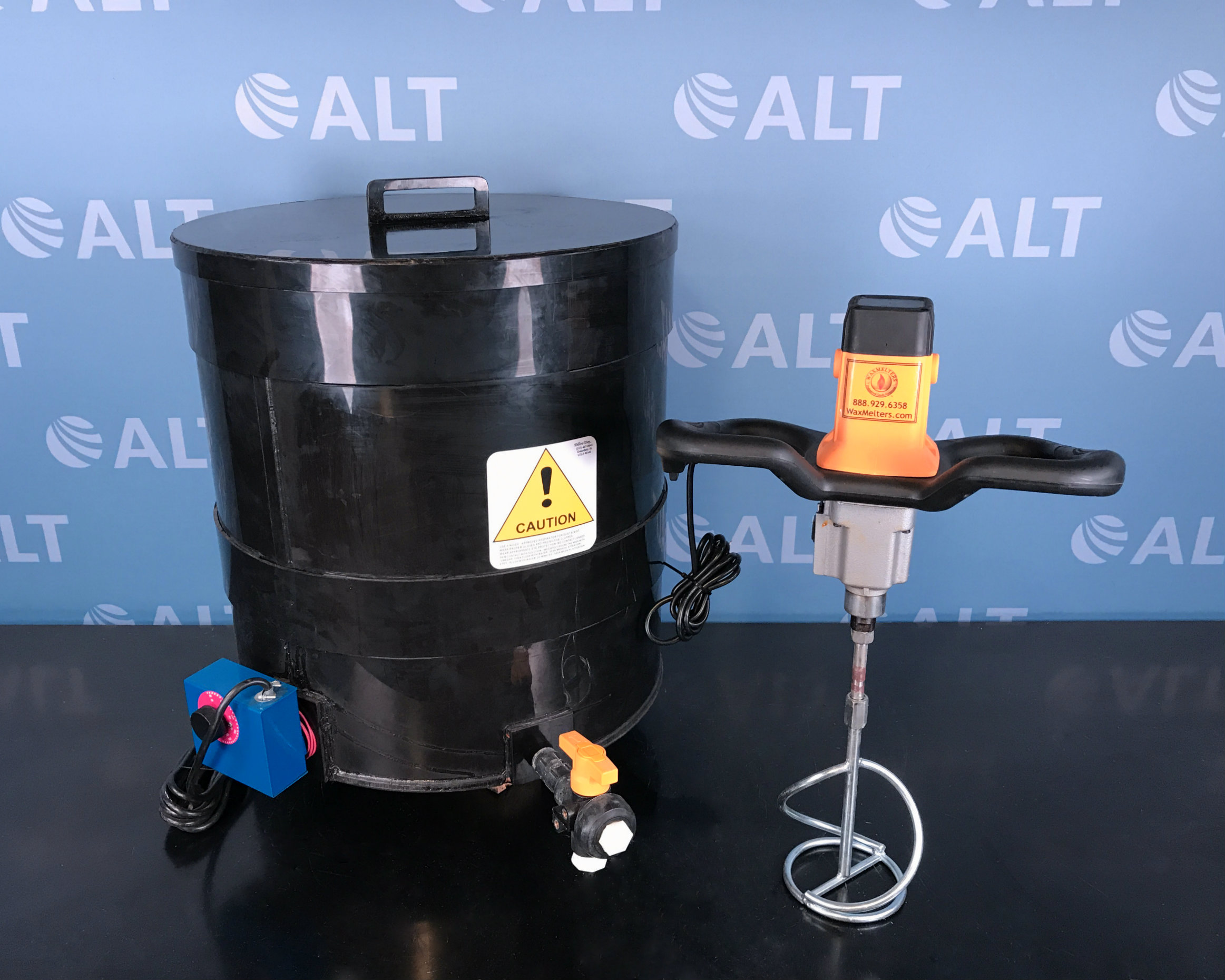 Waxmelters EZ-MIX Agitator with Tank Melter Image