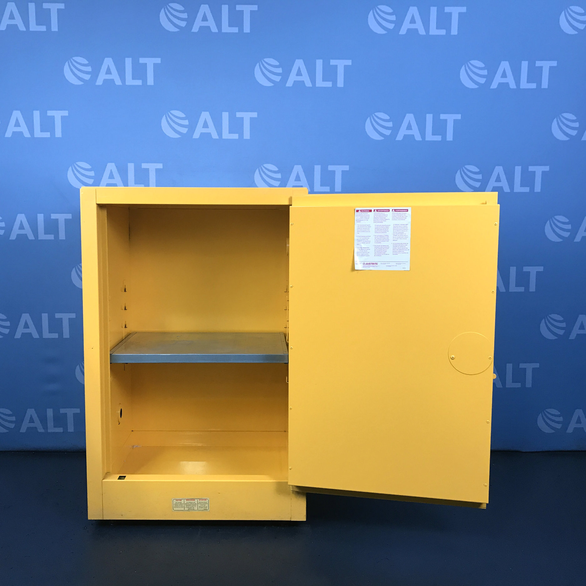 Refurbished Justrite 25710 Flammable Liquid Storage Cabinet