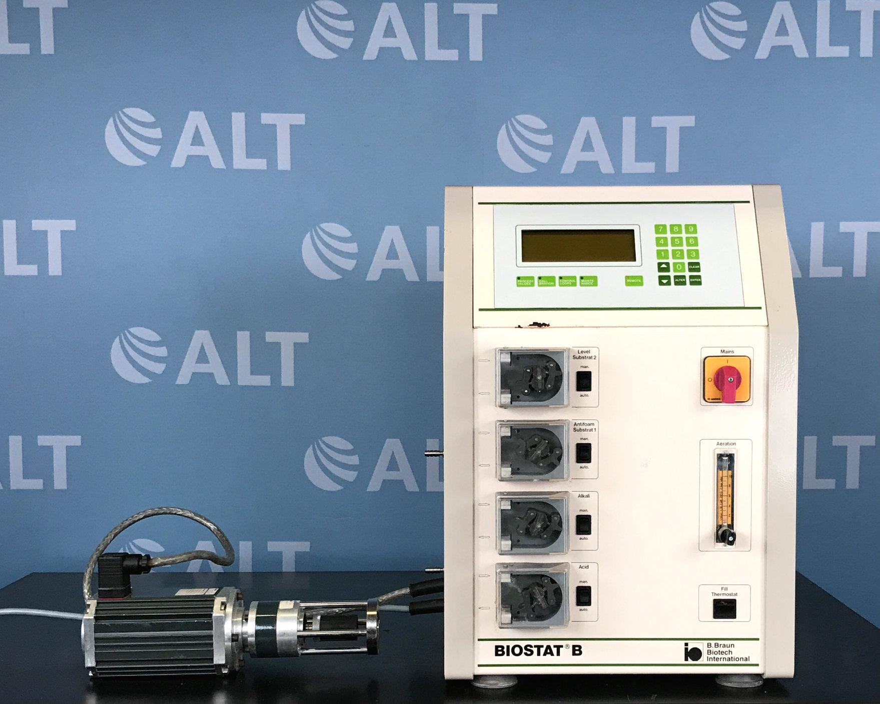 B. Braun Biostat B Fermenter/Bioreactor Controller 888118/4 with Heidolph Stirrer 317 Image