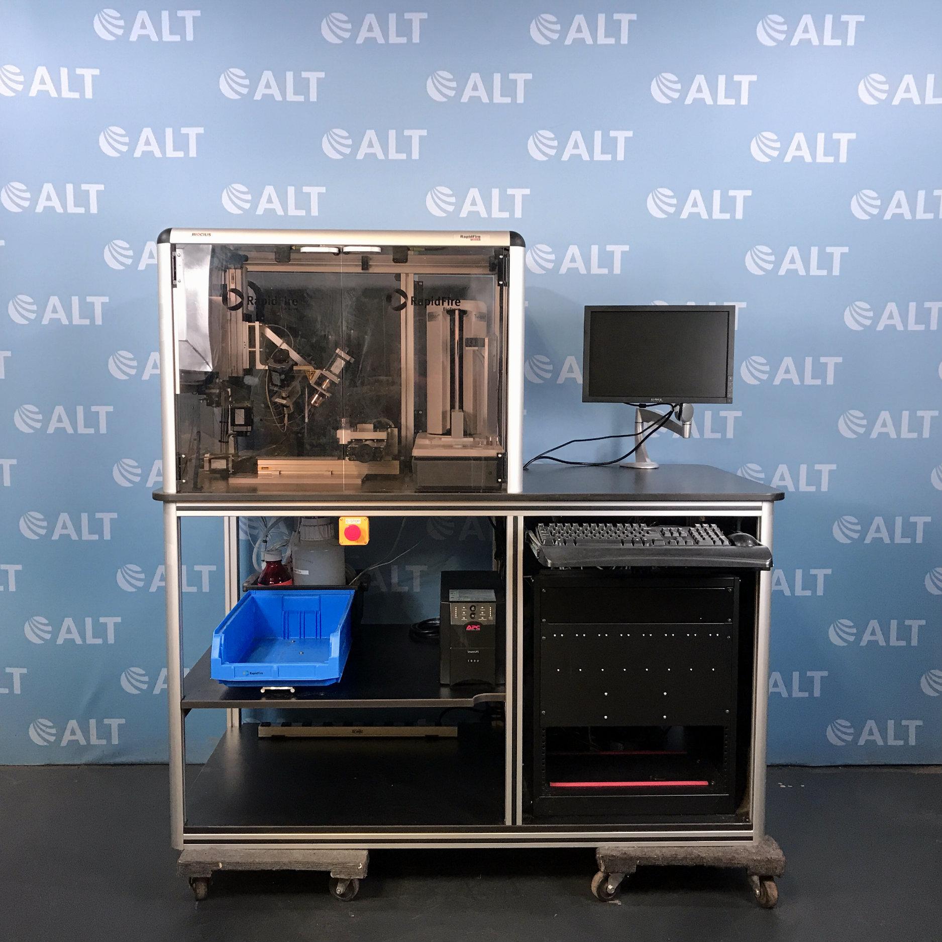 Agilent Technologies BioCius RapidFire 300 High-throughput Mass Spectrometry System  Image