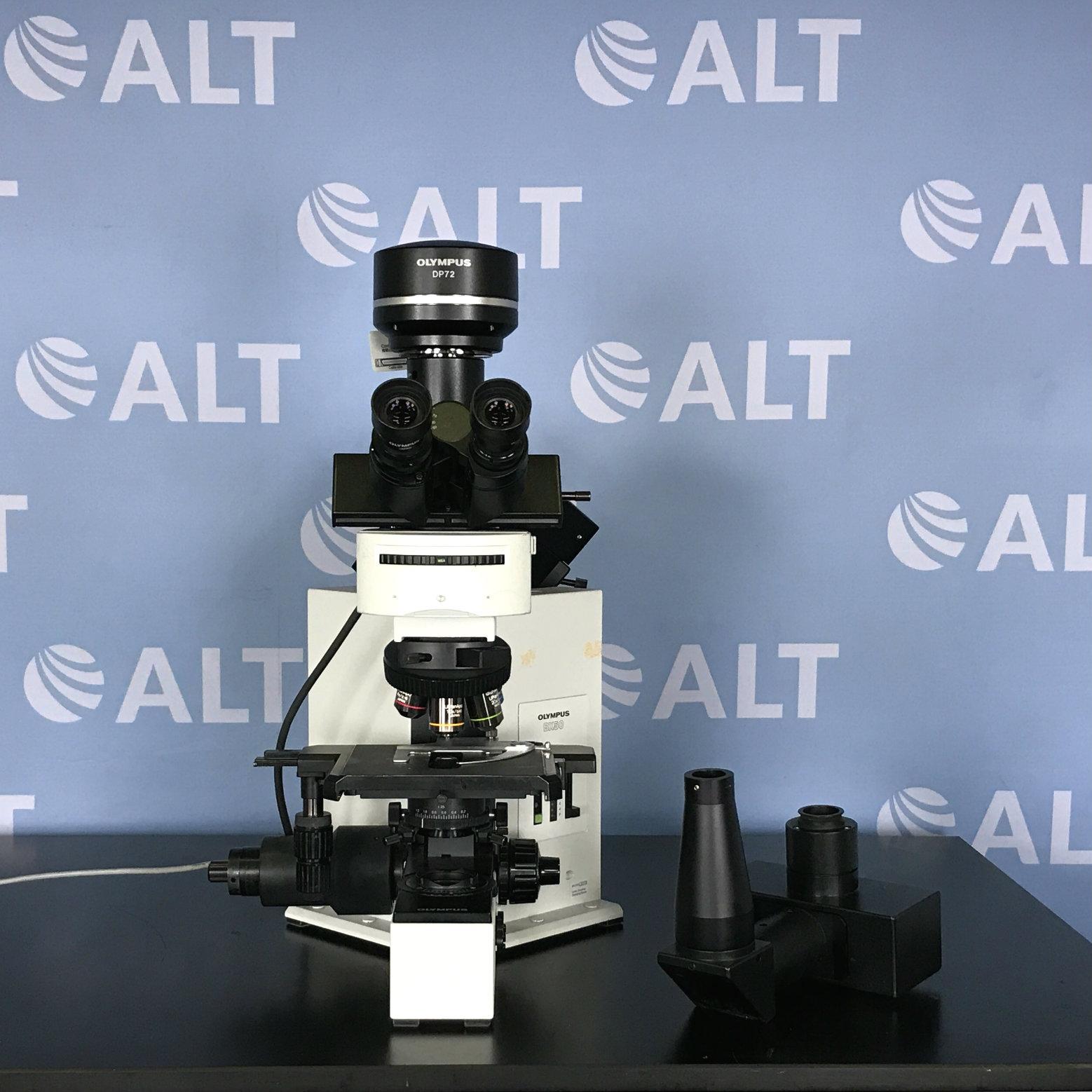 Olympus BX50F4 Microscope Image