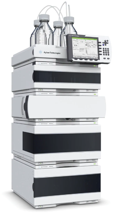 Agilent Factory Refurbished 1290 HPLC System with Quat Pump Image