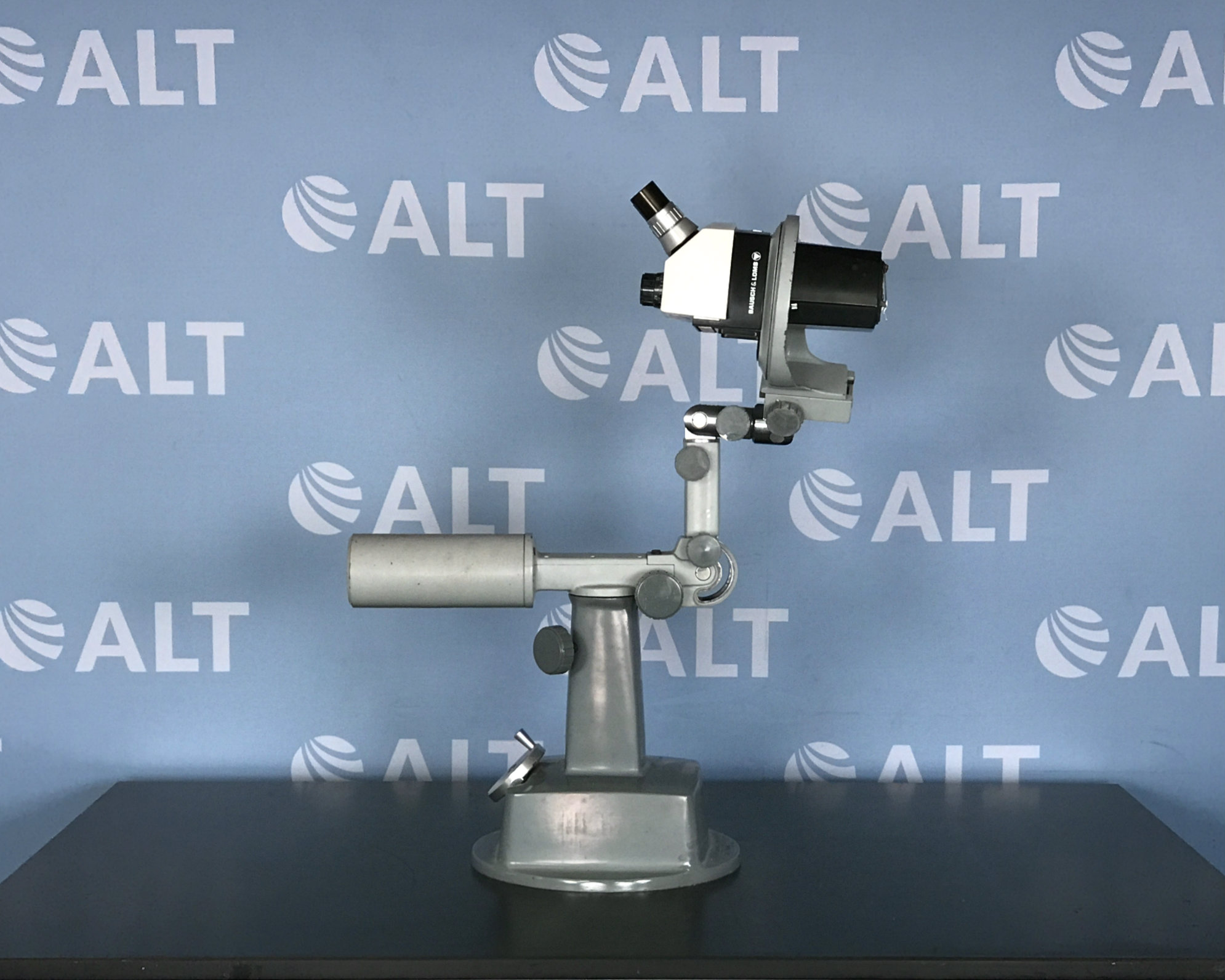 Bausch & Lomb Stereozoom 7 Microscope with Custom Stand  Image