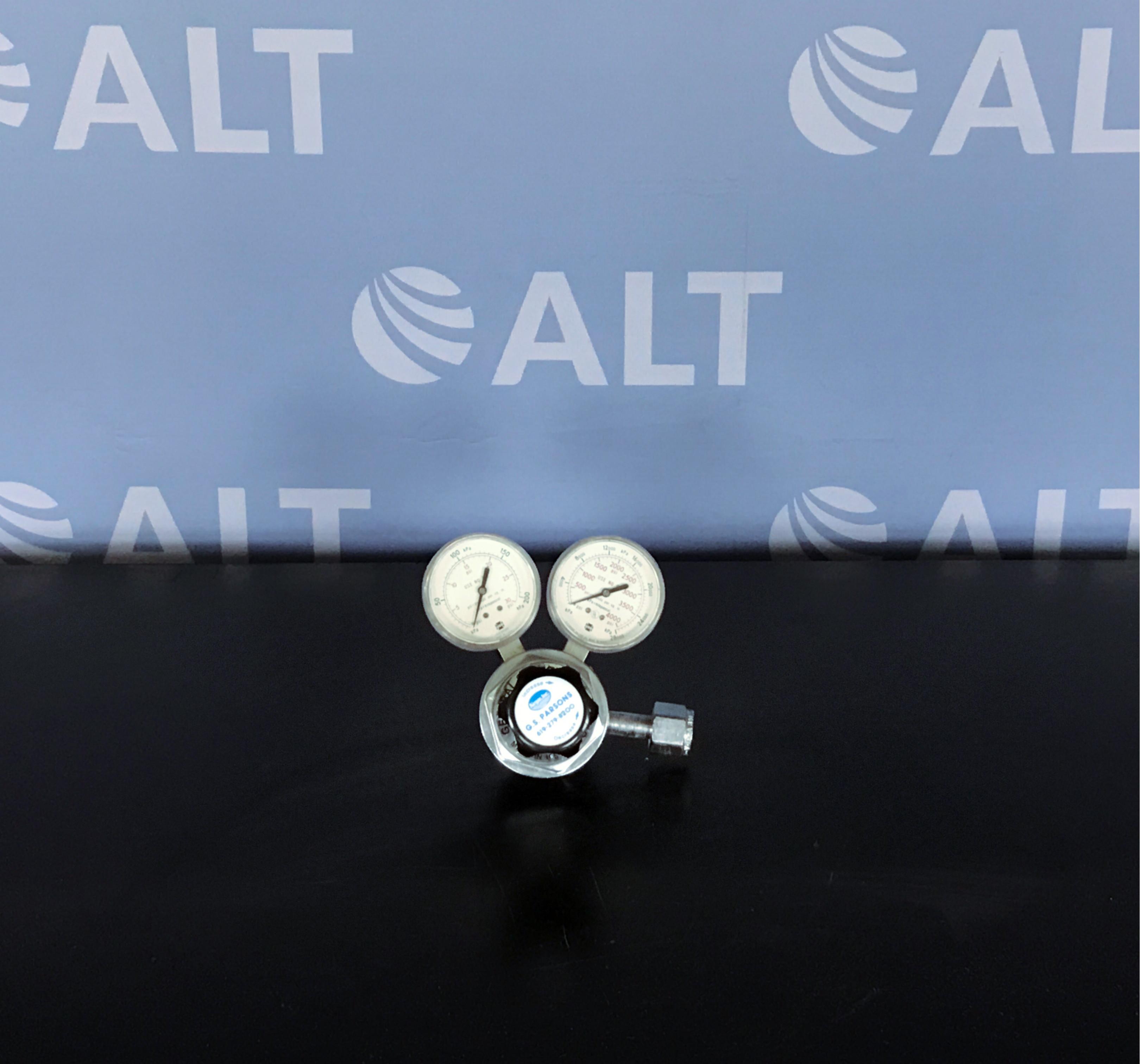 Airgas Gpt-270a Compressed Nitrogen & Inert Gas Regulator Image