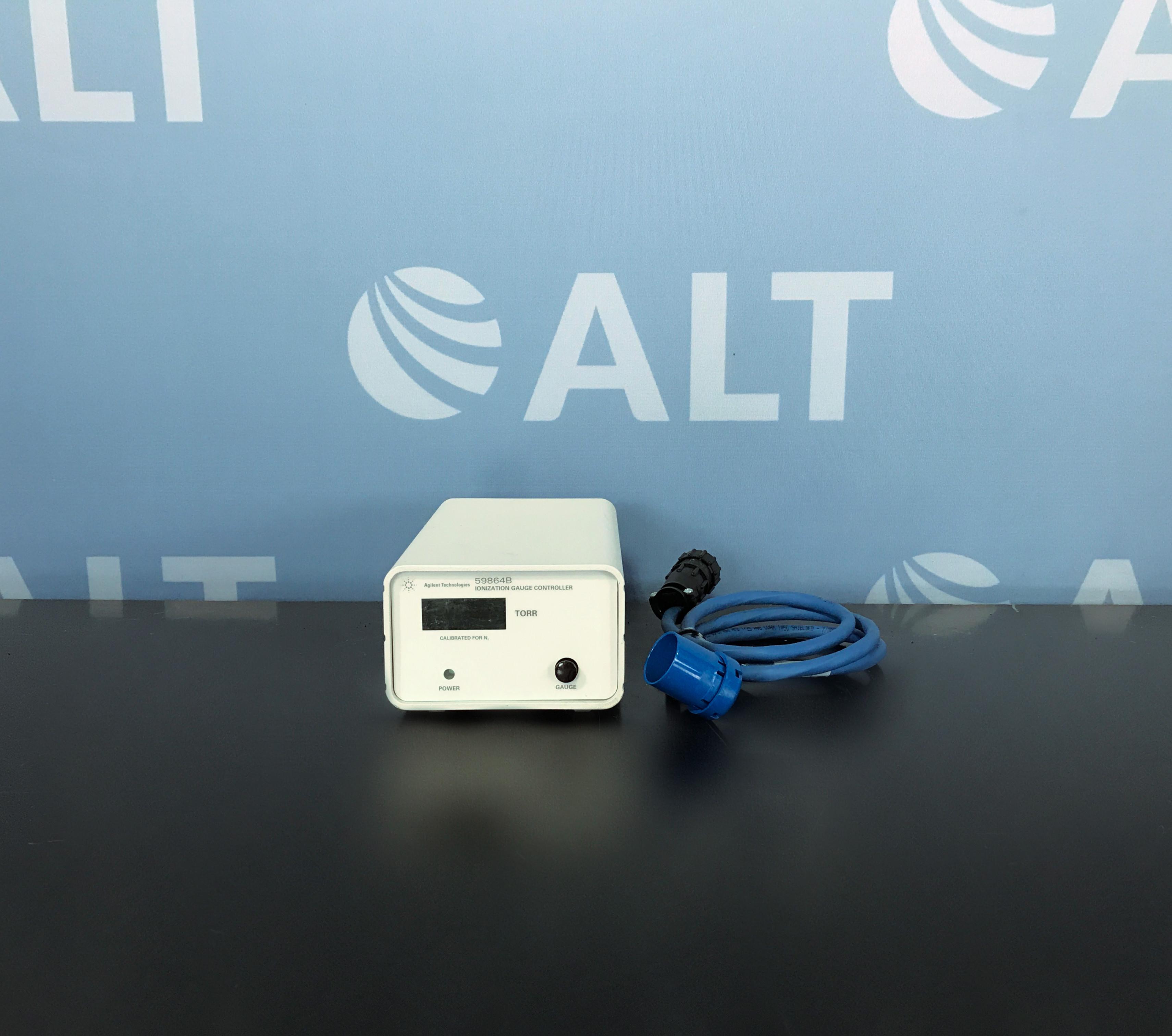 Agilent 59864B Ionization Gauge Controller Image