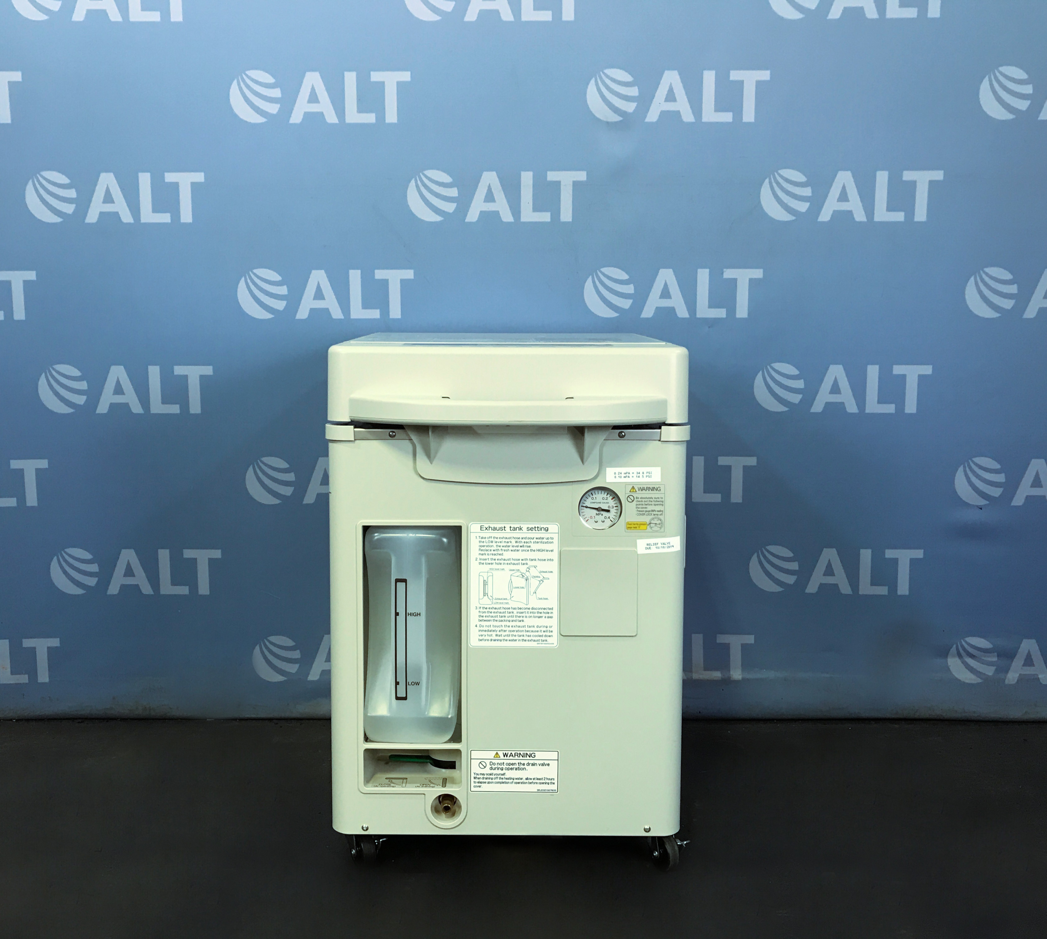 Refurbished Panasonic MLS-3751L Compact Top-Loading Autoclave