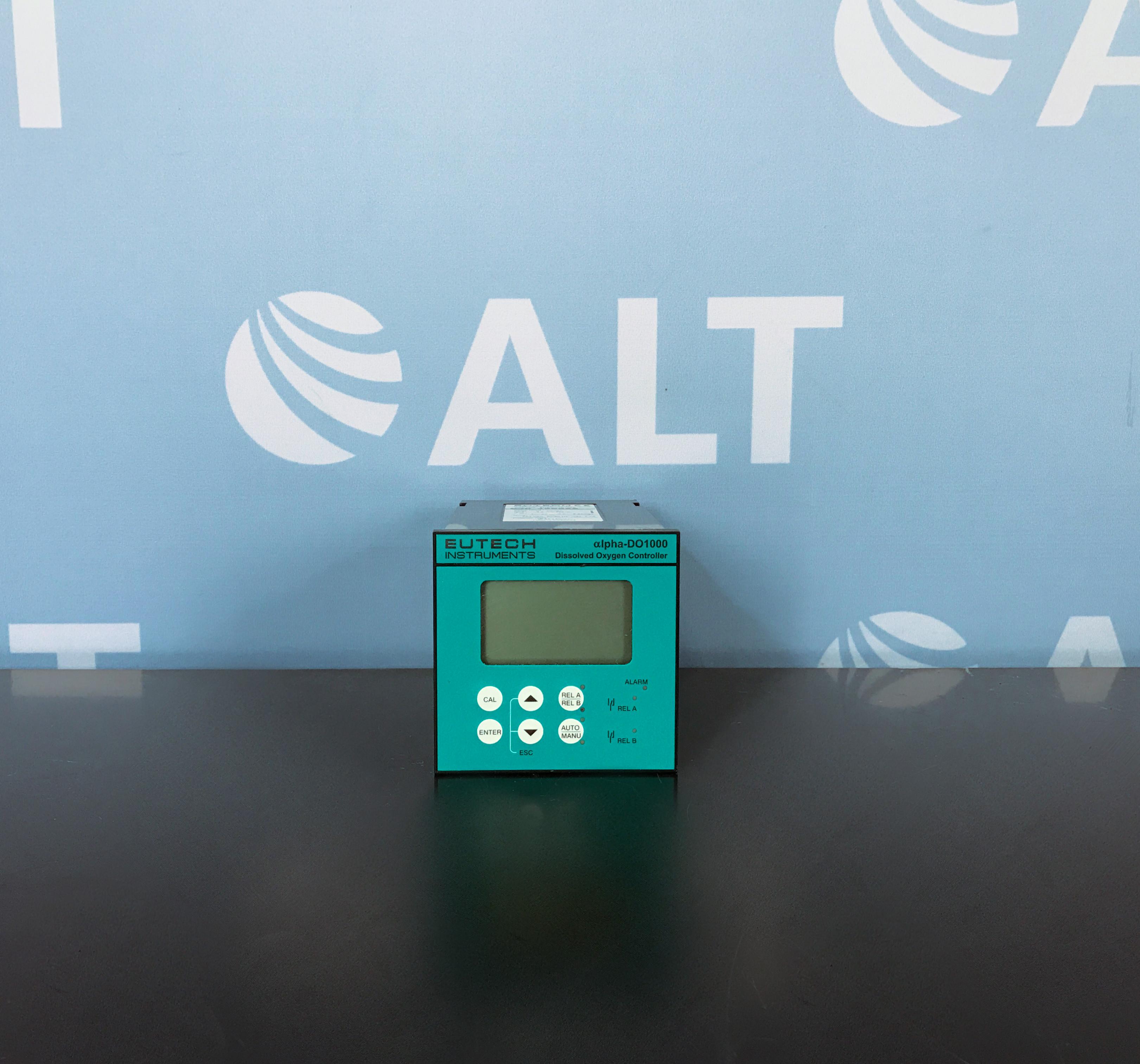 Eutech Instruments alpha-DO1000 1/4 DIN Dissolved Oxygen Controller Image