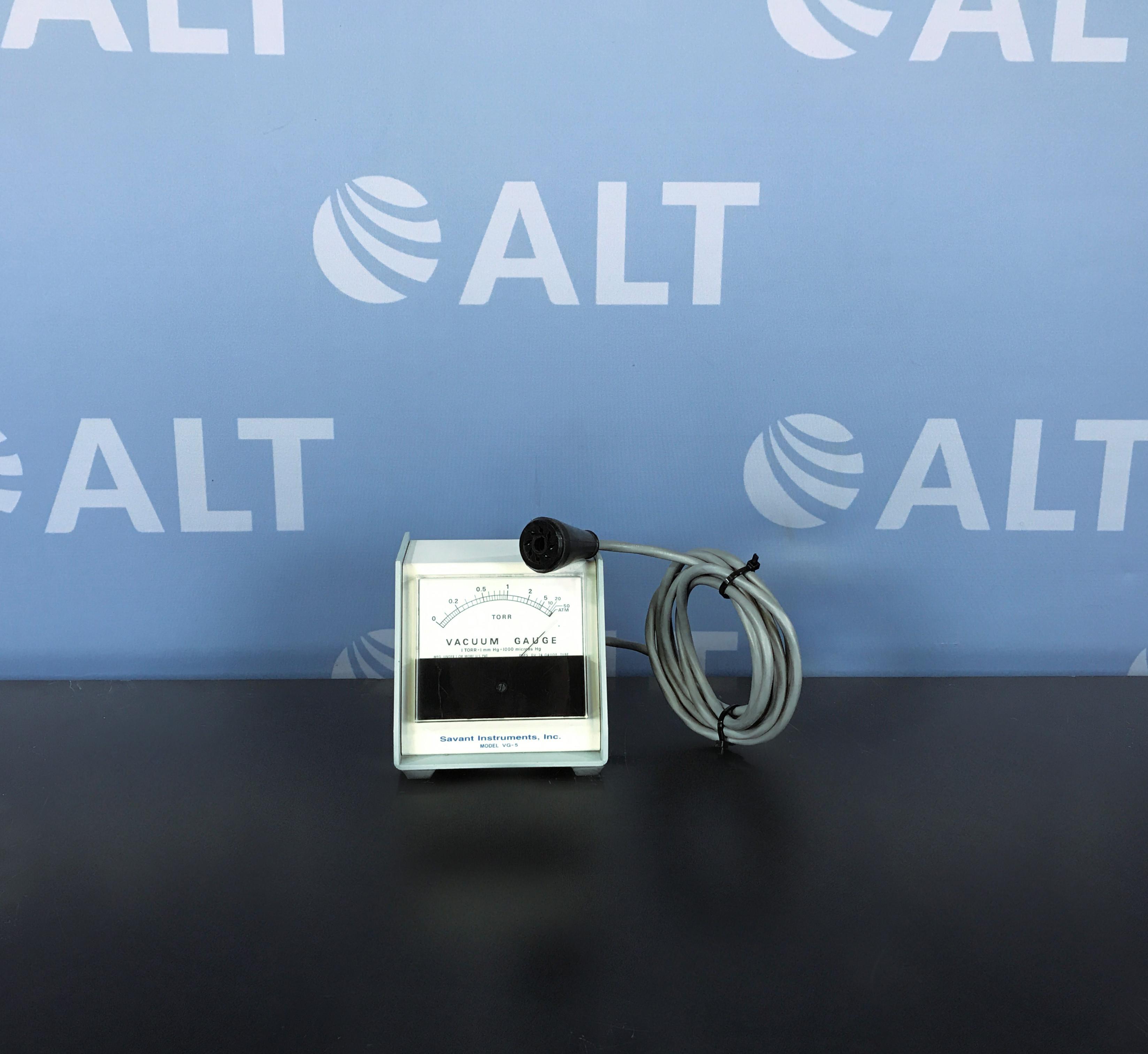 Savant VG 5 Vacuum Gauge Image