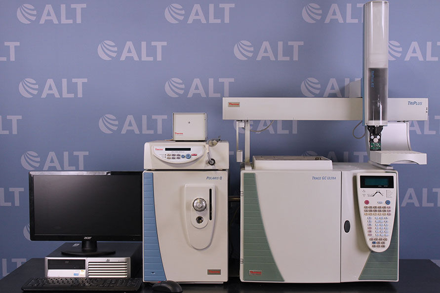 Thermo Trace Ultra GC with Polaris Ion Trap Mass Spectrometer GC/MS System Image