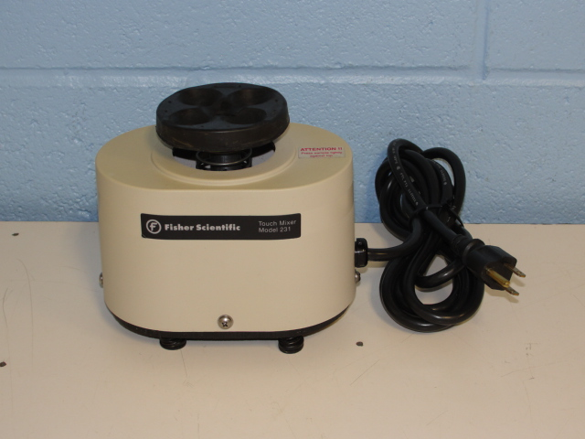 Fisher Scientific 231 Touch Mixer with Variable Speed Image