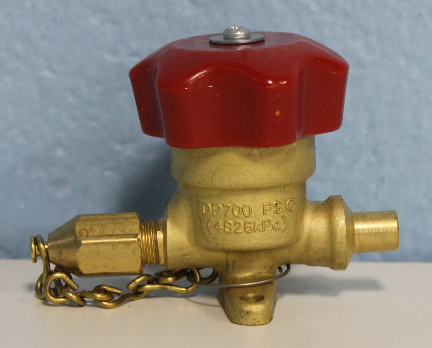 Superior 234A-4 Packless Purge Valve 1/4 Image