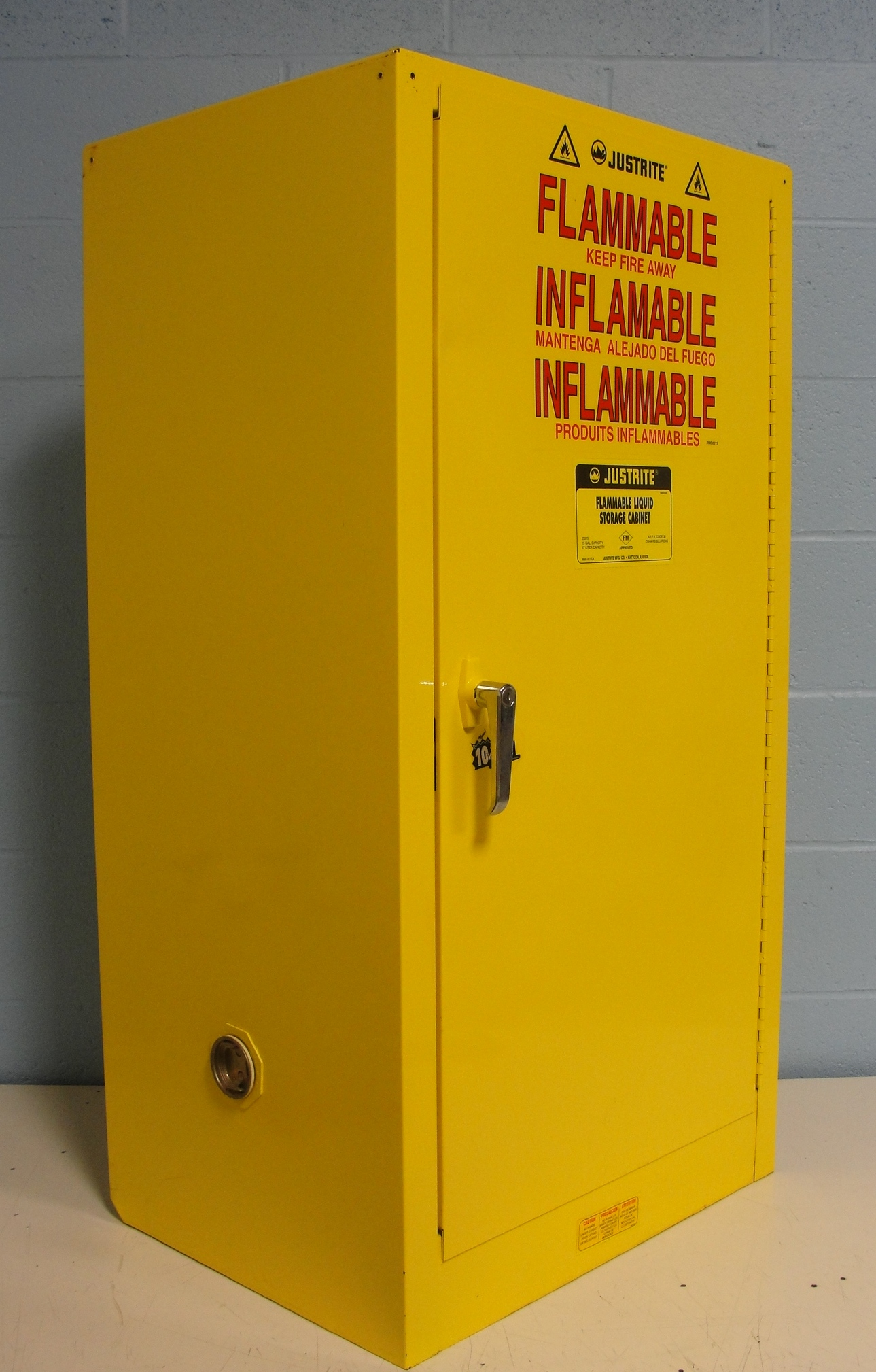 Justrite 25710 Flammable Liquid Storage Cabinet Image Justrite 25710 Flammable Liquid Storage Cabinet Image ... & Refurbished Justrite 25710 Flammable Liquid Storage Cabinet