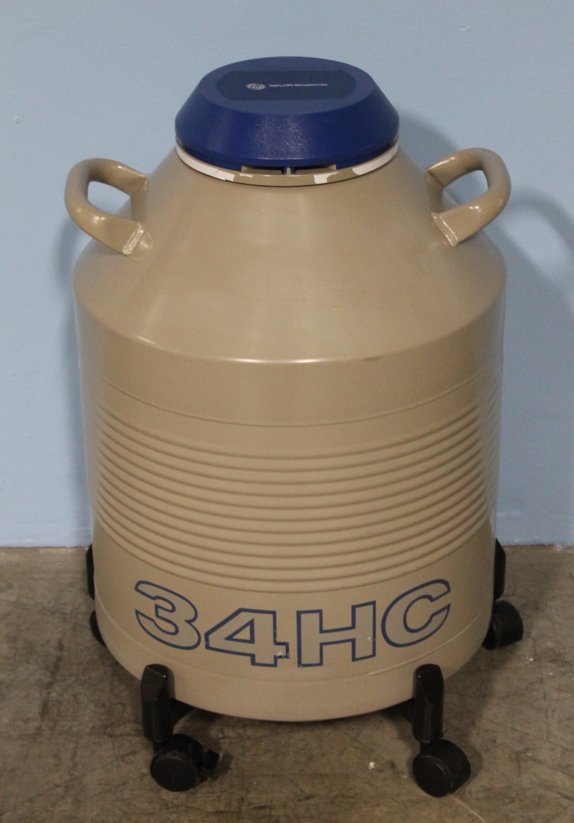 Refurbished Taylor Wharton 34HC Cryogenic Storage Dewar