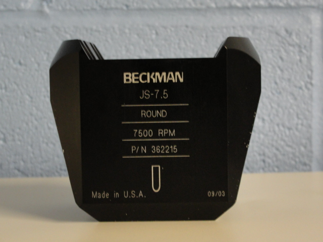 Beckman 5mL Round-Bottom Tube Carrier Image